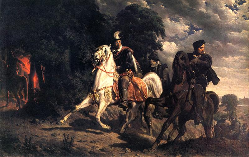 Ucieczka Henryka Walezego z Polski