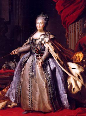 Katarzyna II - cesarzowa Rosji