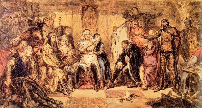 Zjazd w Gąsawie 1227 - Jan Matejko
