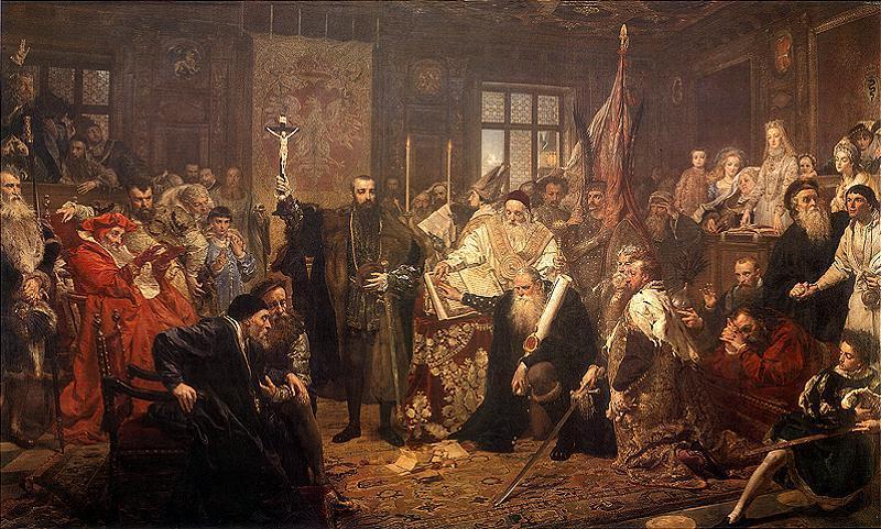Unia Lubelska - Jan Matejko